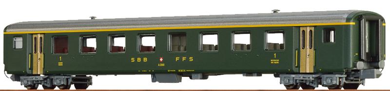 Brawa 65229 SBB EW II A 2565 Personenwagen 1. Klasse