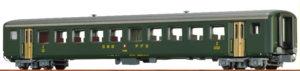 Brawa 65231 SBB EW II B 8546 2. Klasse Personenwagen