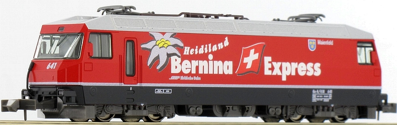 Kato 7074037 RhB Ge 4/4 III 641 Heidiland