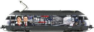 Märklin 37471-002 SBB Re 460 028 Zugbegleiter