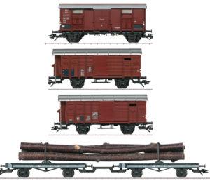 Märklin 46056 SBB Güterwagenset für C 5/6