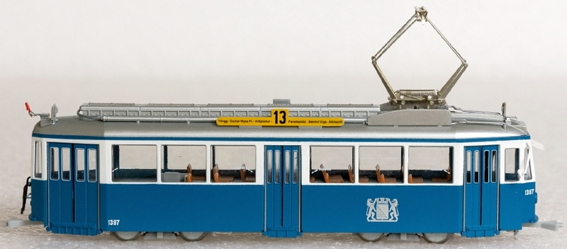 Navemo 243 12 397 VBZ Be 4/4 1397 Standardvierachser