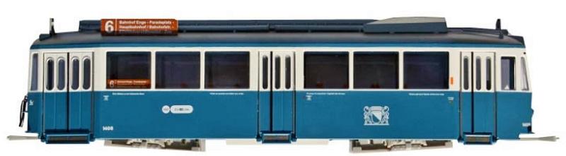 Navemo 243 12 408 VBZ Be 4/4 1408 Standardvierachser