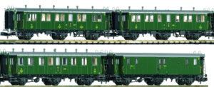 Piko 94340 SBB Oldtimer Personenwagen Set