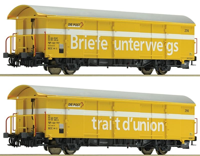 Roco 76200 Postgüterwagenset 2-teilig