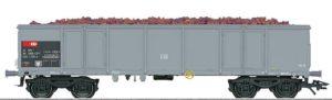 Trix 24370 SBB Eaos Hochbordwagen mit Schlusslicht