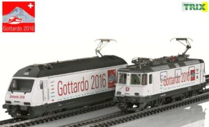 Trix 22391Set SBB Re 420 & Re 460 Gottardo 2016