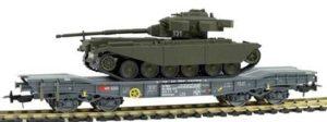 Piko 96680 SBB Panzertransportwagen und Panzer 57 Centurion