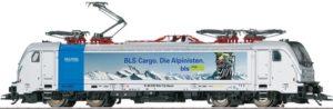 """Maerklin 36631 Railpool / BLS 187 004 """"Die Alpinisten"""""""
