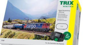 Minitrix 11141 Startpackung Digital mit SBB Ae 610