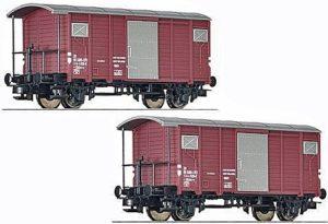 Liliput SBB Güterwagen GKLM-v ohne Bremserhaus braun