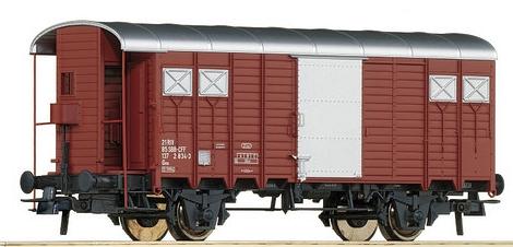 Roco 66202 geschlossener SBB-Güterwagen mit Bremserhaus
