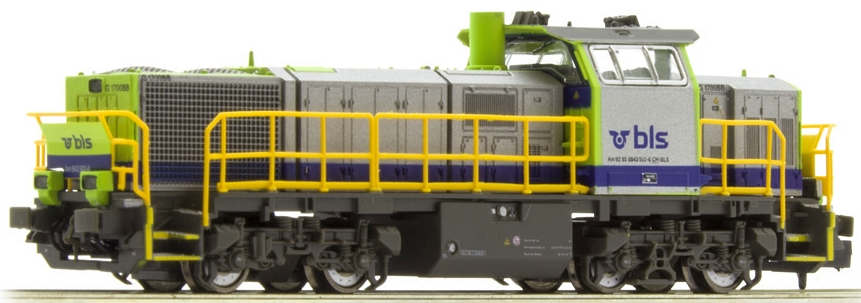Hobbytrain BLS Am 843 502-4