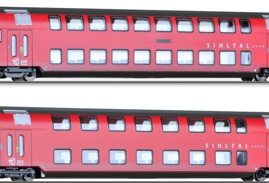 Tillig 70006 Doppellstockwagen-Set der SZU