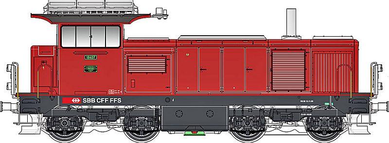 LS-Models 17068 SBB Bm 4/4 18407