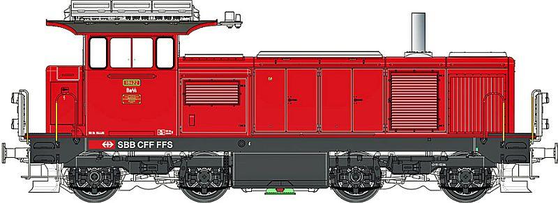 LS-Models 17069 SBb Bm 4/4 18422