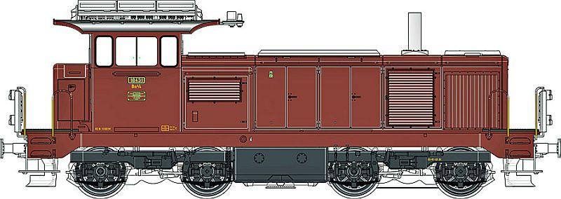 LS-Models 17070 SBB Bm 4/4 18431