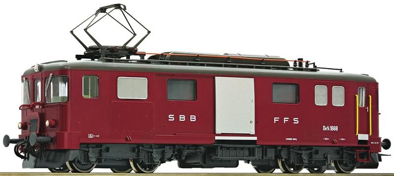 Roco 72656 SBB Seetal-Gepäcktriebwagen