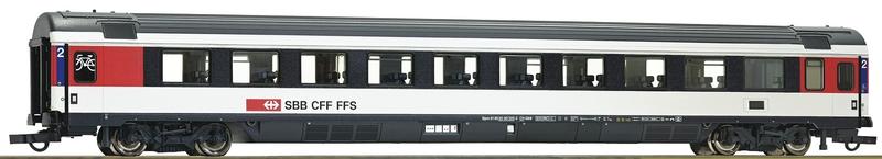 Roco 64400 SBB EC-Schnellzuwagen Serie Bpm