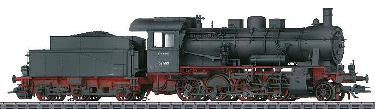 Märklin 37516 DRG BR 56.2-8 Güterzug-Dampflokomotive