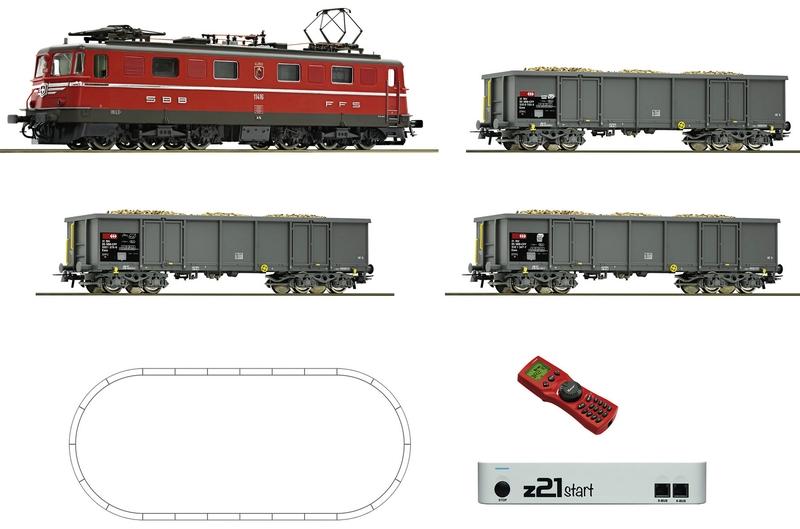 Roco 51296 Digital-Startset mit SBB Güterzug und z21-Steuerzentrale