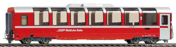 Bemo 3694 131 RhB bp 2521 Panoramawagen 2. Klasse