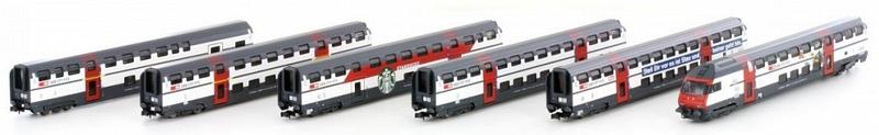Hobbytrain SBB Pendelzug IC 2000