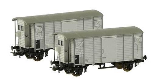Liliput 230148 SBB Zweier-Set geschlossene Güterwagen