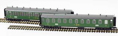 Liliput Gotthardbahn Personenwagenset in SBB Version 2-teilig