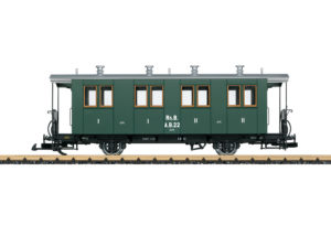 LGB 33401 RhB Nostalgie-Personenwagen A/B Nummer 22