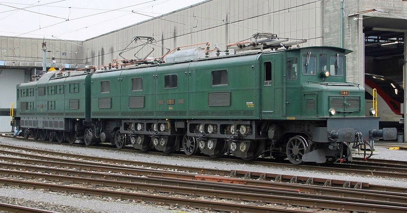 SBb Ae 8/14 Betriebsnummer 11801