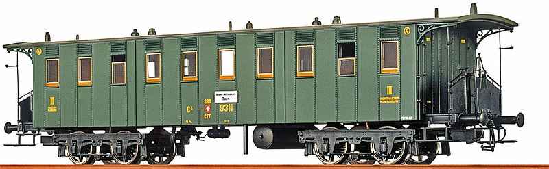 Brawa 45061 SBB Personenwagen C4 8790