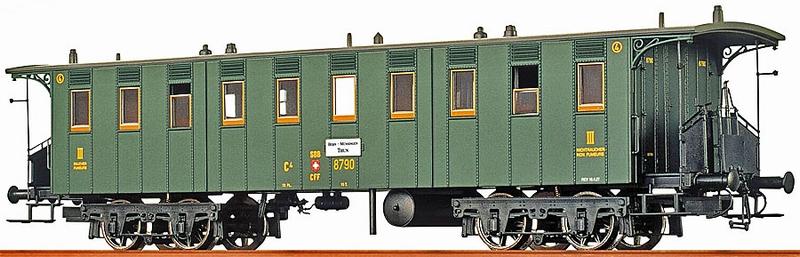 Brawa 45062 SBB C4 Betriebsnummer 8790