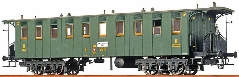 Brawa 45063 SBB C4 Betriebsnummer 9311