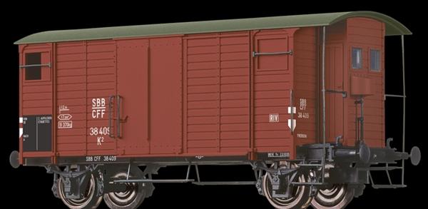 Brawa 67851 SBB K2 35012 Ep III, braun