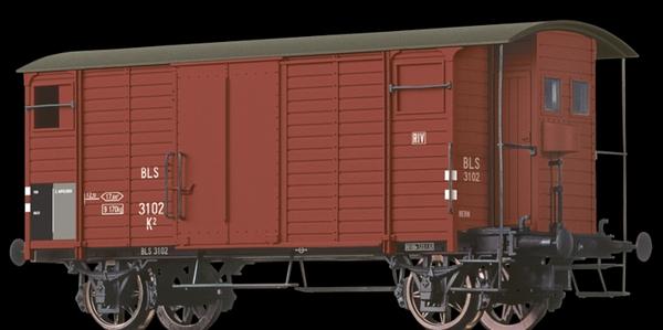 Brawa 67852 BLS K2, Betriebsnummer 3102, Ep III, braun