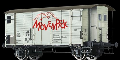 "Brawa 67858 SBB K2, Betriebsnummer 36253, Ep III, ""Mövenpick"""