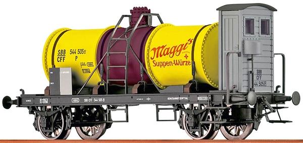 "Brawa 47858 SBB Kesselwagen 544505P ""MaggI"""