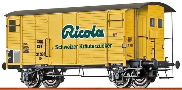 "Brawa 47862 SBB K2, 31984 ""Ricola"""