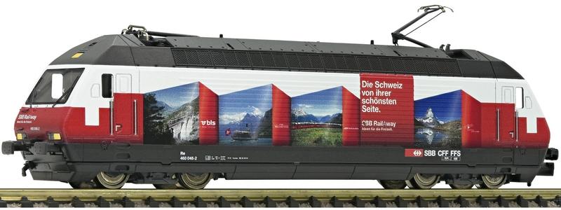 """Fleischmann 731316/396 SBB Re 460 048-2 """"RailAway"""