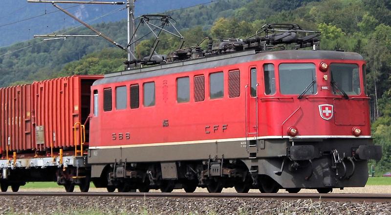 Fleischmann 737212 SBB Ae 6/6 11455 Städtelok