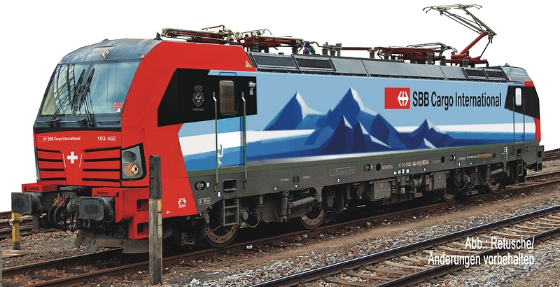 "Fleischmann 739304 SBB Cargo international, Br 193 482-5 ""Vectron"""