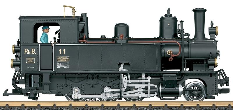 "LGB 20274 RhB Dampflok G 3/4 Betriebsnummer 11 ""Heidi"""
