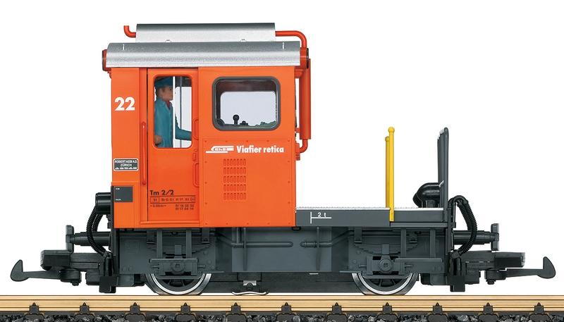 LGB 21411 RhB Rangier-Traktor Tm 2/2, Nummer 22