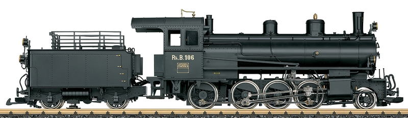 LGB 23530 RhB Dampflok g 4/5 Betriebsnummer 106