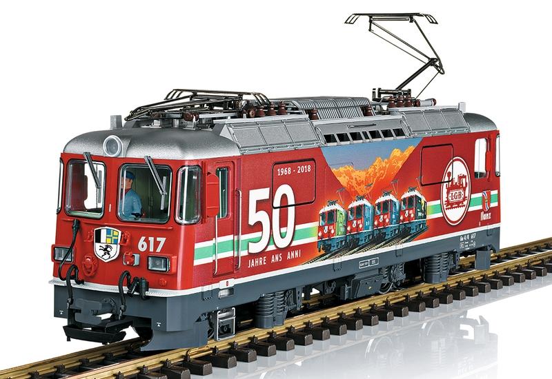 LGB 28443 RhB Ge 4/4 II Nr. 617 Jubiläumslok