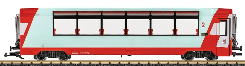 LGB 33669 RhB Panoramawagen Bp Nummer 2336 2. Klasse