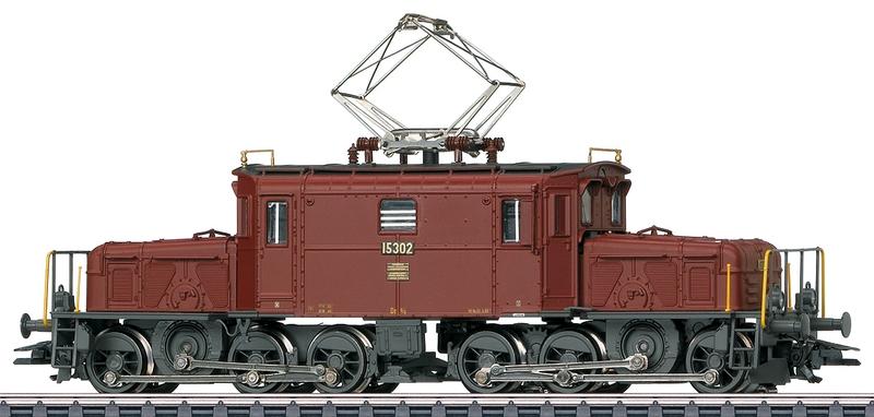 Märklin 37511 SBB De 6/6 Betriebsnummer 15302 Seetal-Krokodil