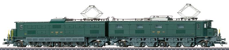 Märklin Schwere SBB Doppellokomotive Ae 8/14, Betriebsnummer 11801