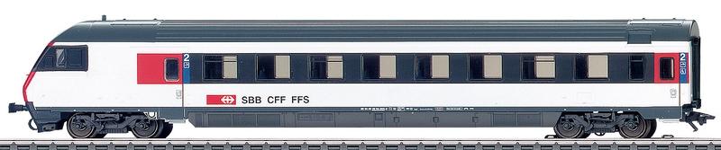 Märklin 42179 SBB Steuerwagen EW IV 2. Klasse